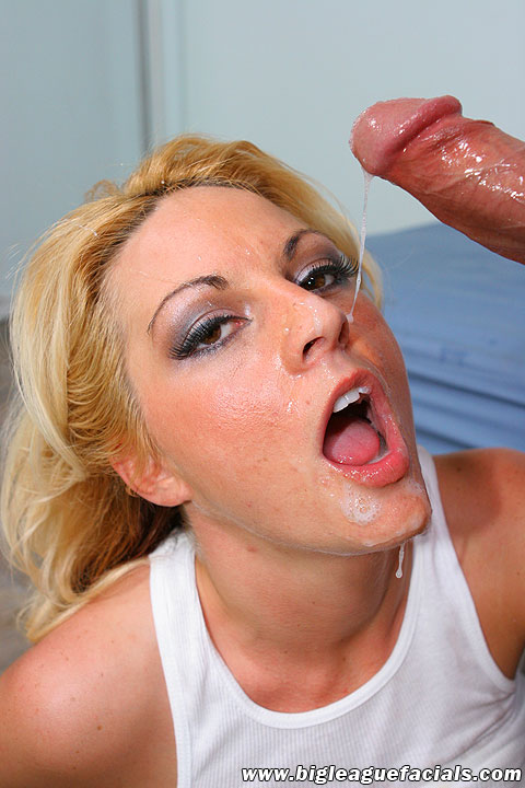 Big League Facials - Cum