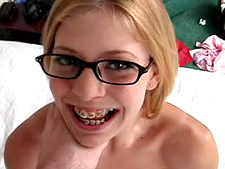Jizz On Glasses - Teen